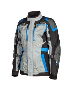 Artemis Jacket Gray - Kinetic BLue