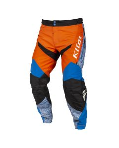 DAKAR IN THE BOOT PANT Orange - Blue