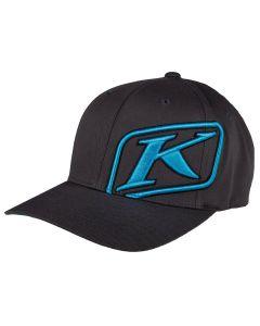 RIDER HAT Asphalt - Vivid Blue