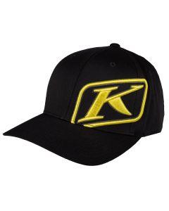 RIDER HAT Black - Yellow