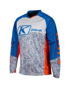 DAKAR JERSEY Orange Blue