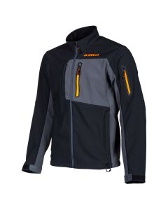 INVERSION JACKET Black - Strike Orange