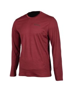 TETON MERINO WOOL LS SHIRT Red