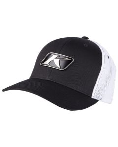 ICON SNAP HAT Black - White