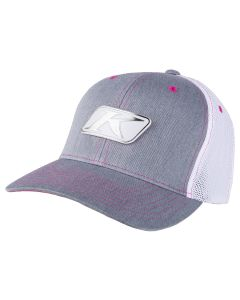 ICON SNAP HAT Heathered Gray - White