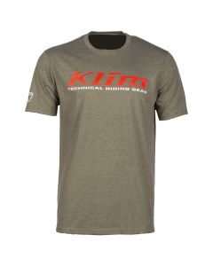 K CORP SS T - REGULAR Military Green - High Risk Red