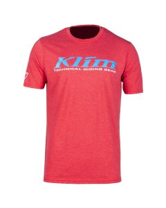 K CORP SS T - REGULAR Red Frost - Vivid Blue