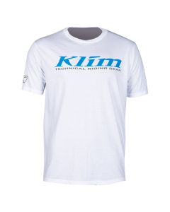 K CORP SS T - REGULAR White - Vivid Blue