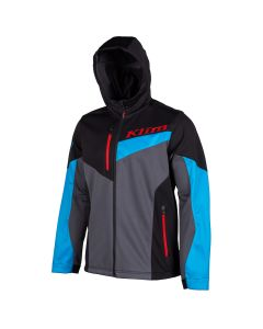 TRANSITION HOODIE - REGULAR Vivid Blue