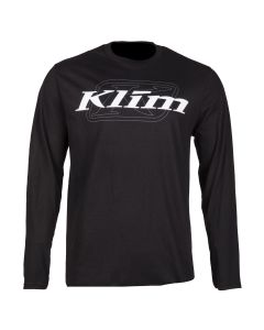 K CORP LS T Black - White