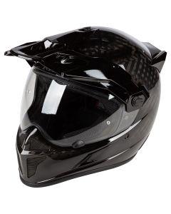 Krios Karbon Adventure Helmet ECE Gloss Karbon black