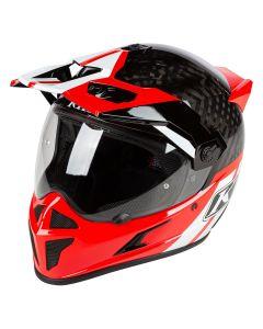 Krios Karbon Adventure Helmet ECE Twotrak Redrock