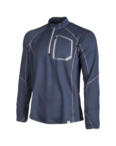 TETON MERINO WOOL 1/4 ZIP Blue