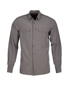 BASECAMP LS SHIRT Dark Gray