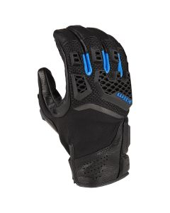 BAJA S4 GLOVE BLACK - KINETIK BLUE