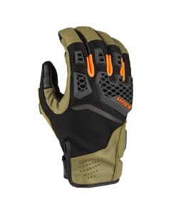 BAJA S4 GLOVE SAGE - STRIKE ORANGE