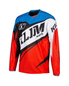 XC LITE JERSEY - YOUTH Red - Blue