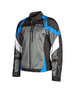 Induction Jacket Gray - Kinetik BLue