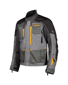 Carlsbad Jacket Asphalt - Strike Orange
