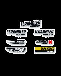 Multi Logo Aufkleber