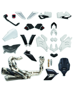 Racing Panigale V4 accessory package.