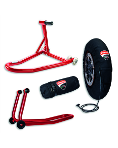 Pit Stop Panigale V4 accessory package.