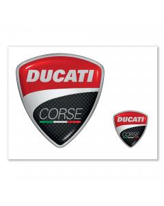 Ducati Korse Aufkleber