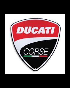 DUCATI CORSE Metallschild