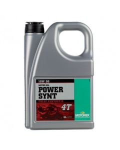 POWER SYNT 4T SAE 10W/50 (4 L)